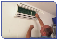 Air conditioning unit repair