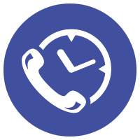 large call overflow icon