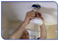Fitting a Fire Alarm