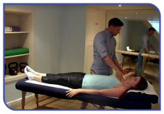 Treament at an Osteopathy Clinic