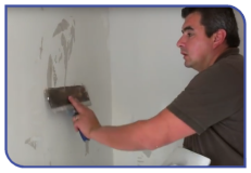 Coating a wall