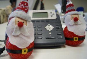 Santa on call