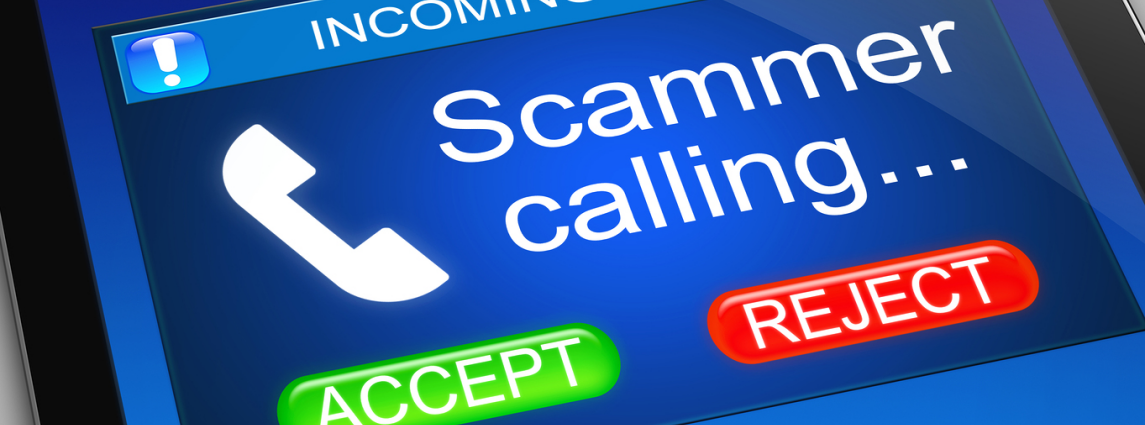 Incoming scam phonecall