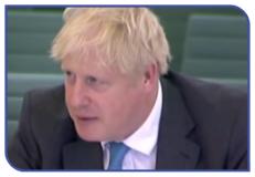Boris Johnson discusses Covid-19