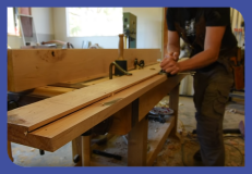 Preparing timber for window manufacture