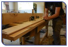 Manufacture and fitting of timber windows