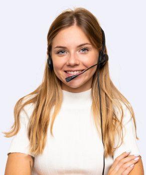 Operator Nicola ready to handle calls